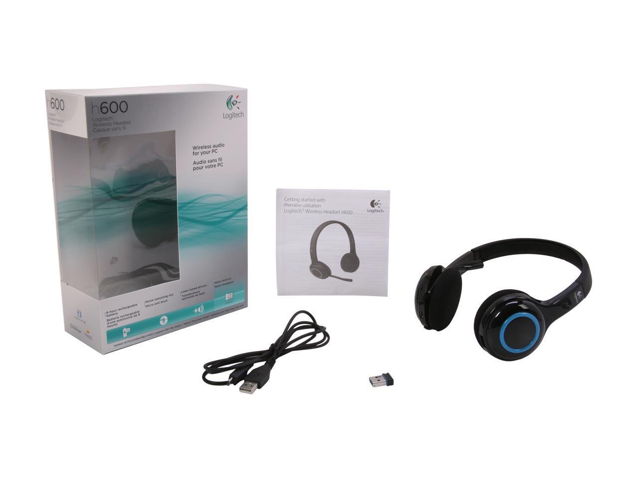 Logitech H600 Wireless Headset | Help Tech Co  Ltd