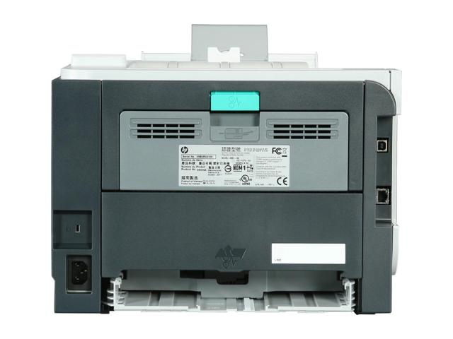 HP LaserJet P2055dn networkable printer with toners and install CD and cords