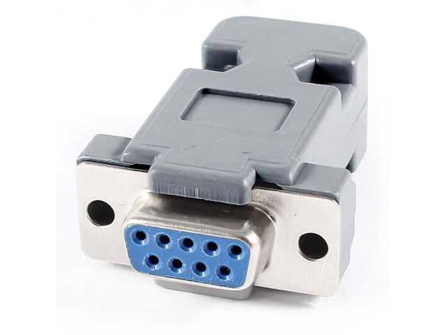 Rs232 serial port db9 9 pin female jack computer cable connector help tech co ltd - Pc 9 pin serial port pinout ...