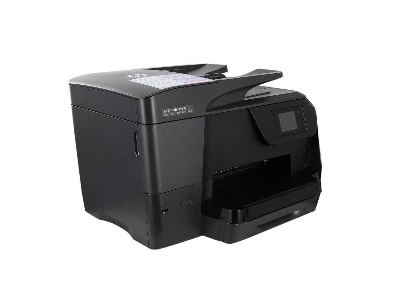hp officejet pro 8710 manual
