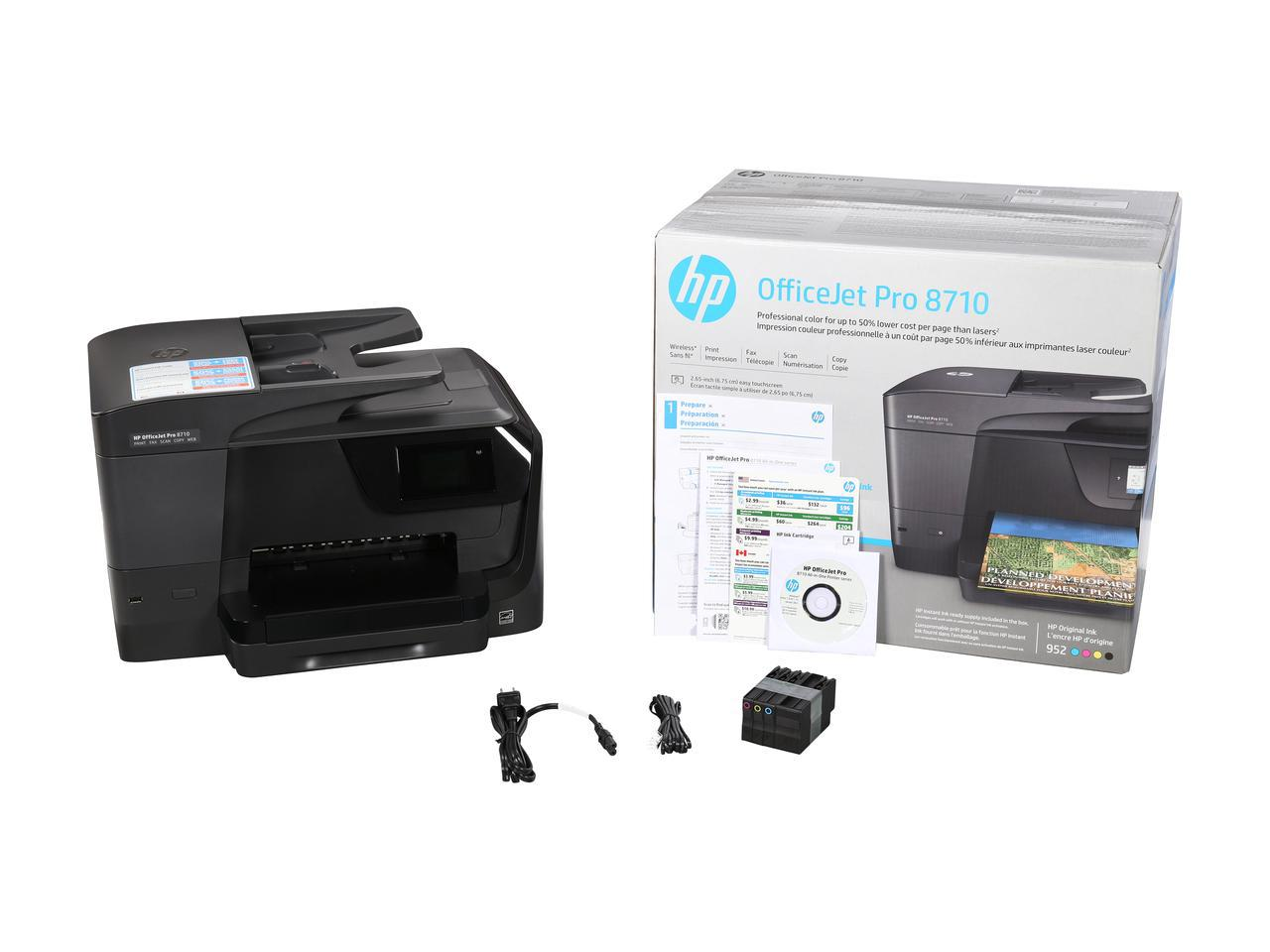 hp officejet pro 8710 all in one printer help tech co ltd