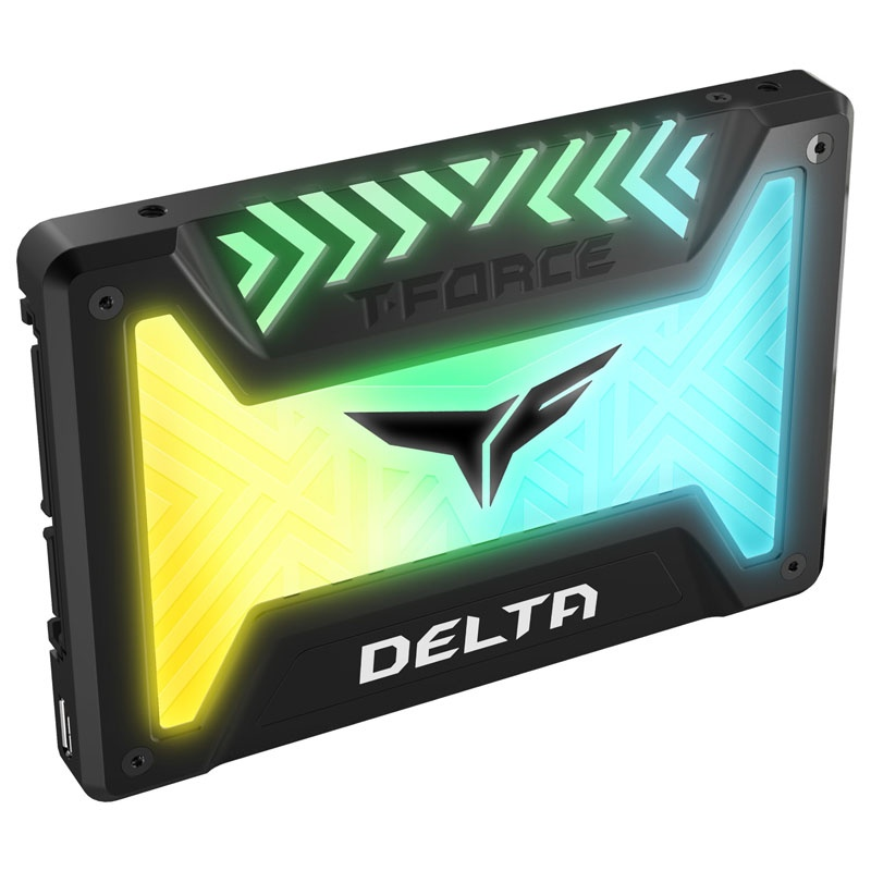 Teamgroup T Force Delta Rgb 250gb 2 5 Quot Sata Iii 3d Nand