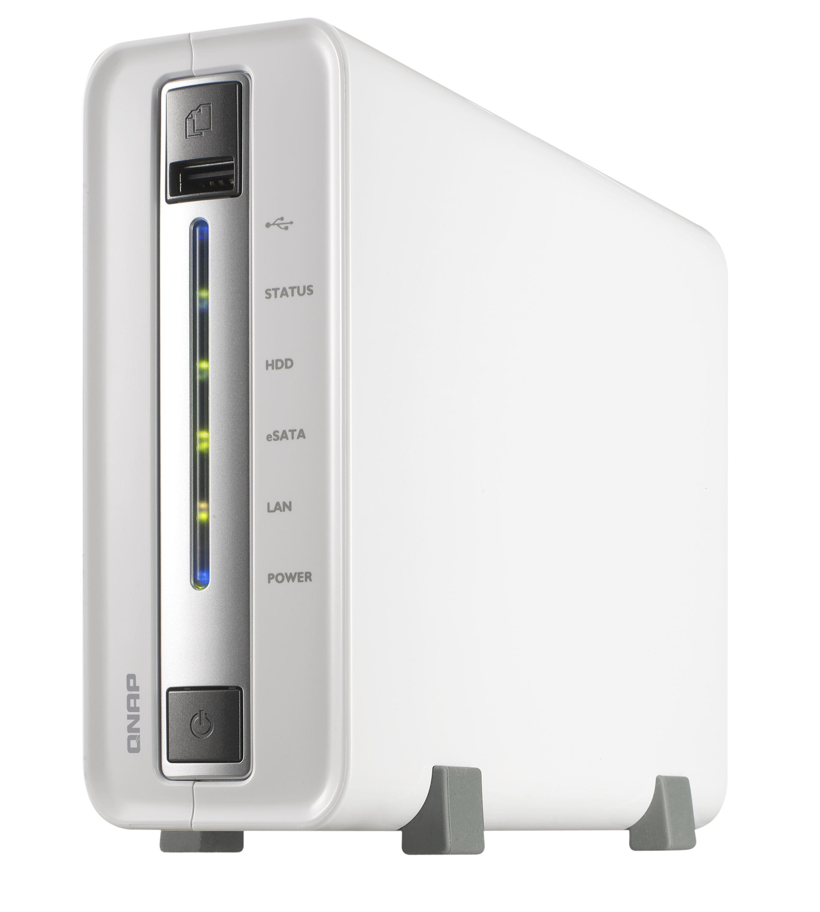 QNAP TS-112P Personal Cloud NAS, DLNA, Mobile App Supported