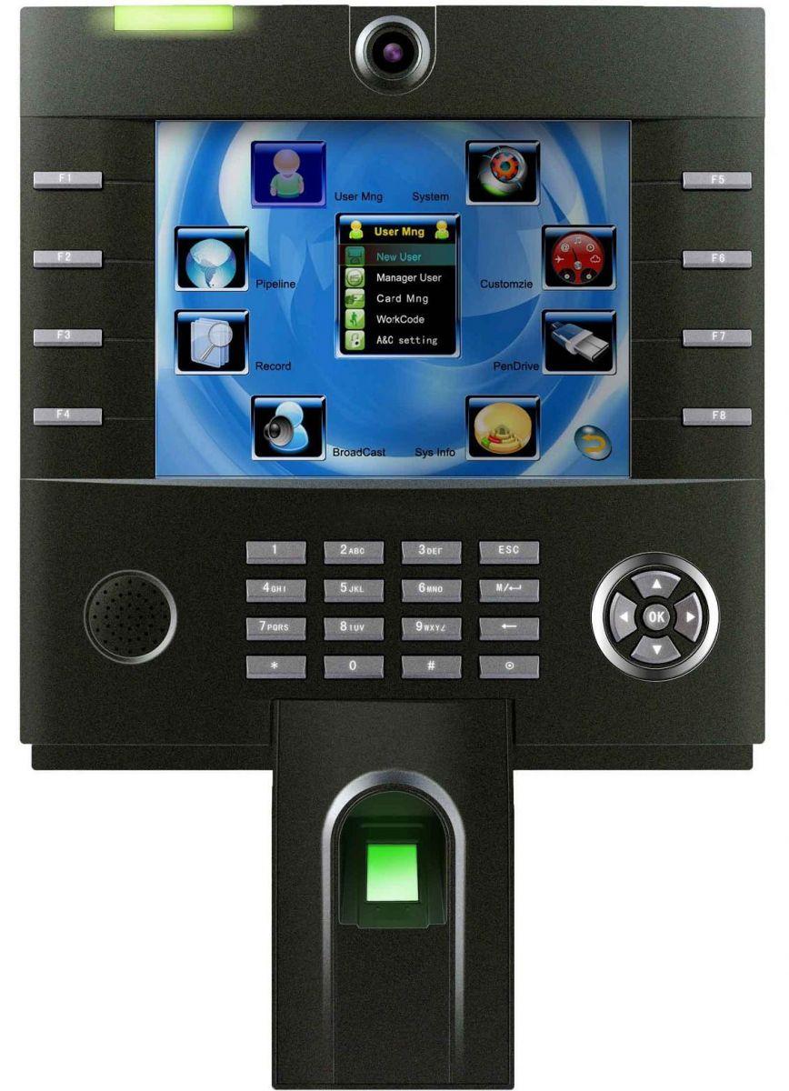 ZKTeco iClock 3800 | Help Tech Co  Ltd